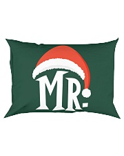 Mr Christmas Hat Rectangular Pillowcase thumbnail