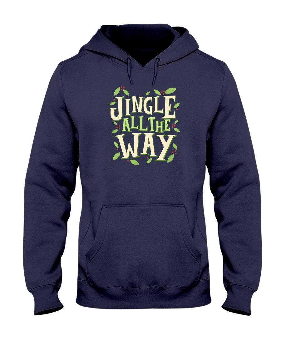 Jingle All The Way Hooded Sweatshirt