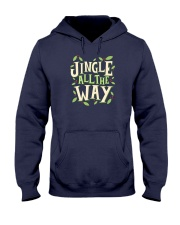 Jingle All The Way Hooded Sweatshirt thumbnail