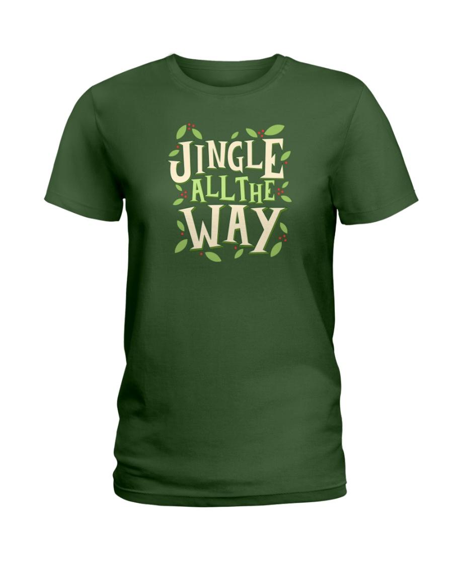 Jingle All The Way Ladies T-Shirt
