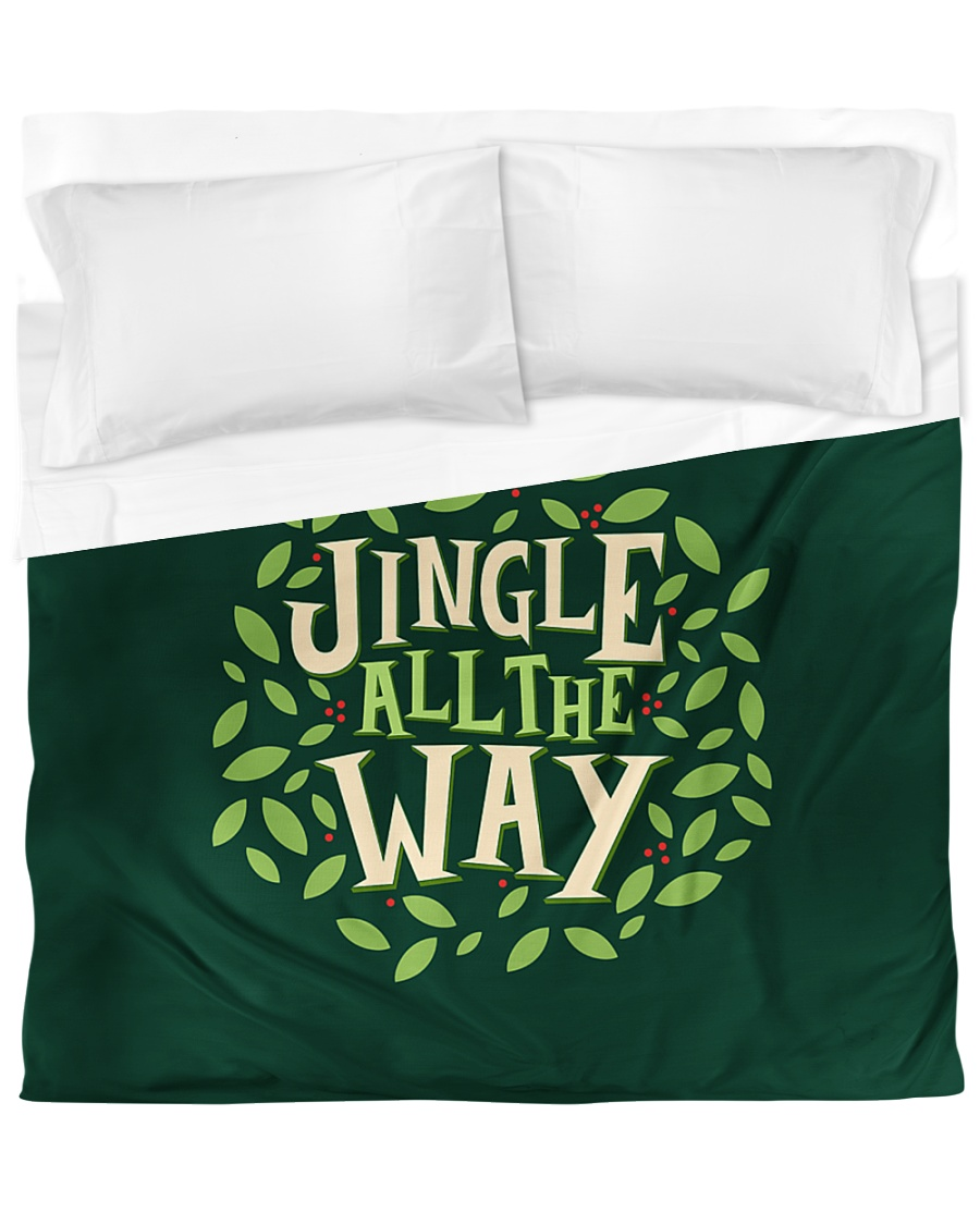 Jingle All The Way Duvet Cover - King