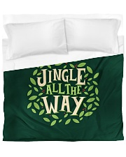 Jingle All The Way Duvet Cover - King thumbnail