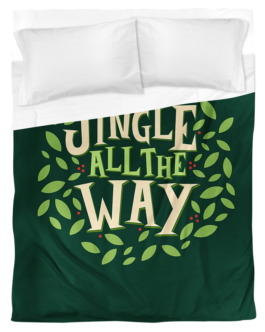 Jingle All The Way Duvet Cover - Twin