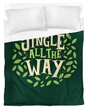 Jingle All The Way Duvet Cover - Twin front