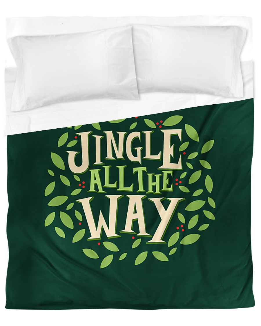 Jingle All The Way Duvet Cover - Queen