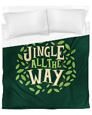 Jingle All The Way Duvet Cover - Queen front