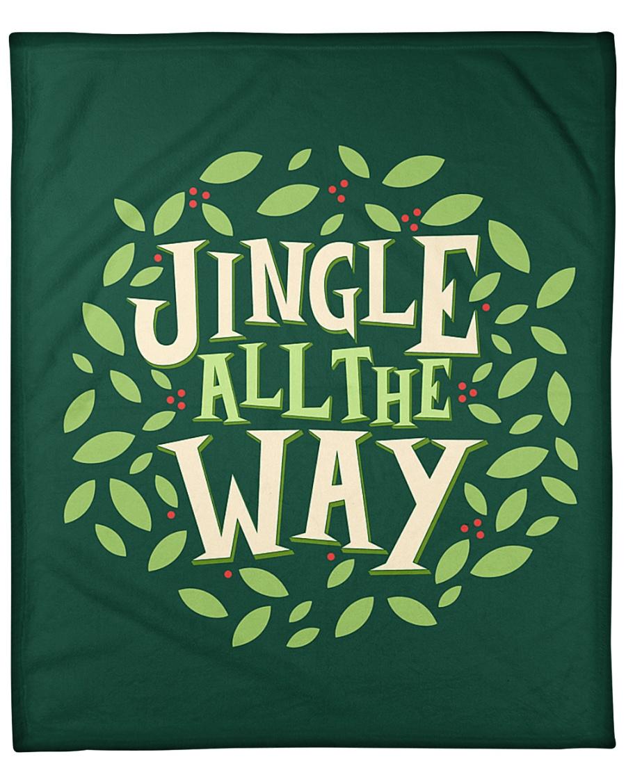 """Jingle All The Way Fleece Blanket - 50"""" x 60"""""""
