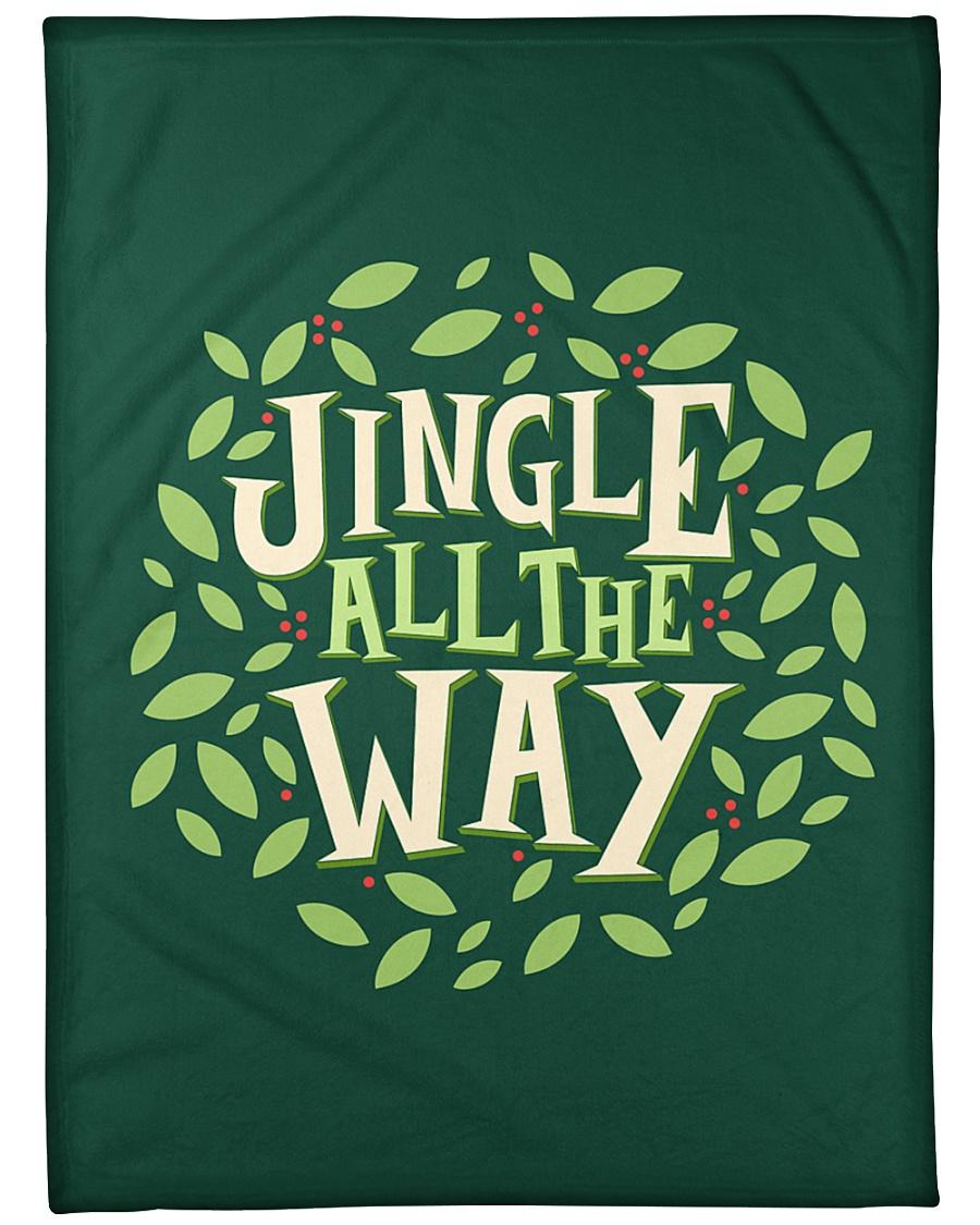 """Jingle All The Way Large Fleece Blanket - 60"""" x 80"""""""
