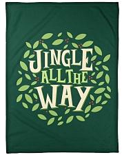 "Jingle All The Way Large Fleece Blanket - 60"" x 80"" front"