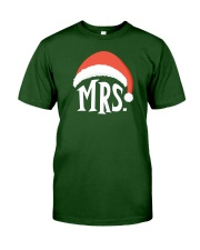 Mrs Christmas Hat Classic T-Shirt thumbnail