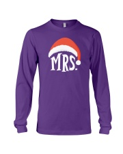 Mrs Christmas Hat Long Sleeve Tee thumbnail