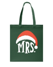 Mrs Christmas Hat Tote Bag thumbnail