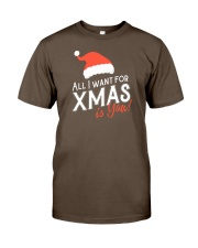 All I Want For Xmas Is You Premium Fit Mens Tee front