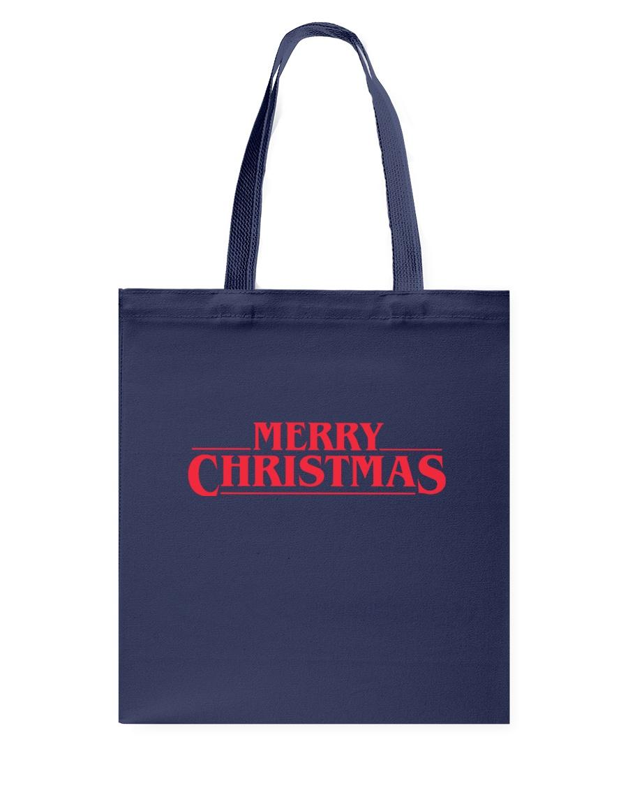 Merry Christmas Retro Tote Bag