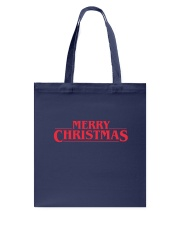 Merry Christmas Retro Tote Bag thumbnail