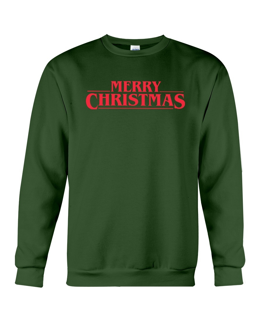 Merry Christmas Retro Crewneck Sweatshirt