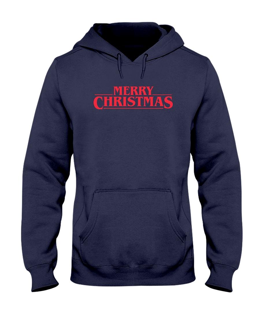 Merry Christmas Retro Hooded Sweatshirt