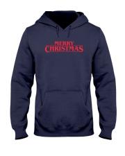 Merry Christmas Retro Hooded Sweatshirt front