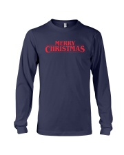 Merry Christmas Retro Long Sleeve Tee front