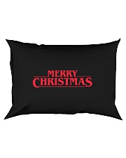 Merry Christmas Retro Rectangular Pillowcase tile
