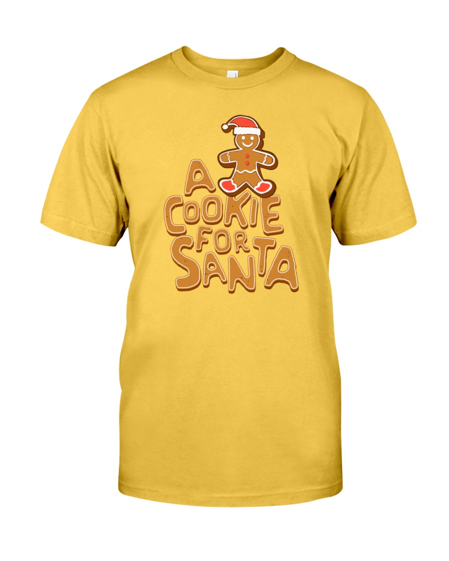 A Cookie For Santa Classic T-Shirt