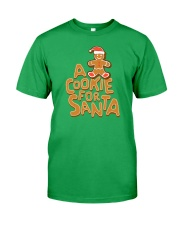 A Cookie For Santa Classic T-Shirt front