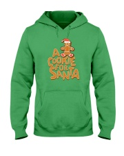 A Cookie For Santa Hooded Sweatshirt front