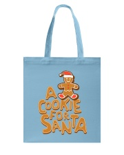 A Cookie For Santa Tote Bag back
