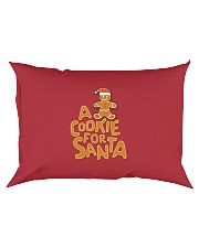 A Cookie For Santa Rectangular Pillowcase thumbnail