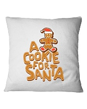 A Cookie For Santa Square Pillowcase tile