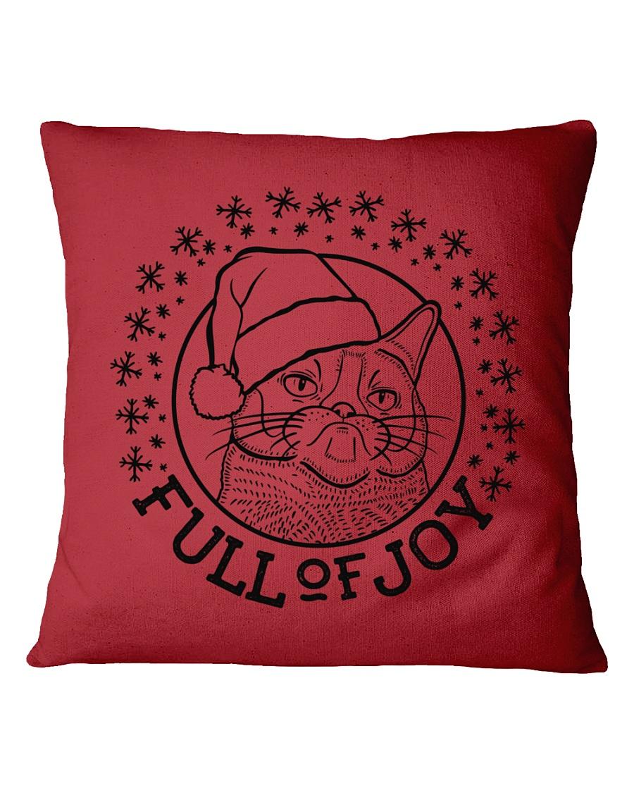 Full Of Joy Square Pillowcase