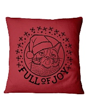 Full Of Joy Square Pillowcase thumbnail