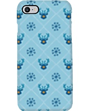 Light Blue Reindeer Phone Case thumbnail