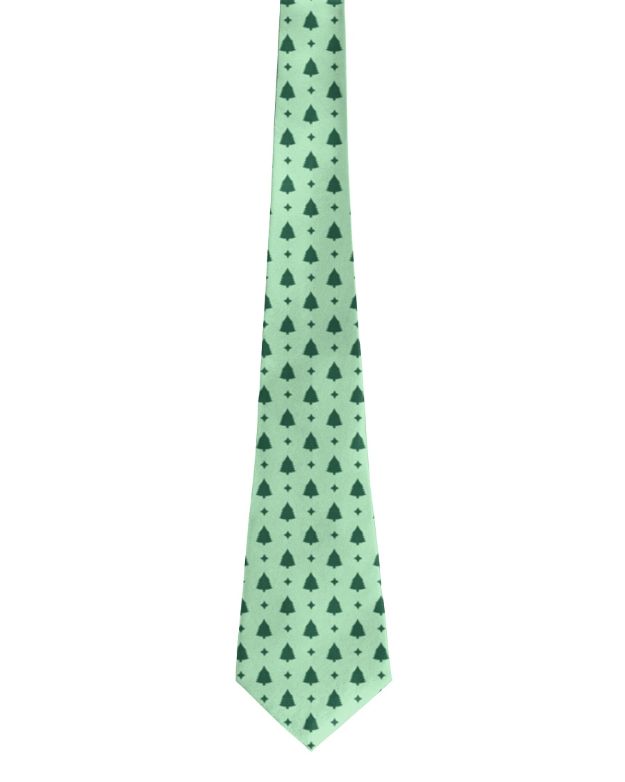 Mint Christmas Tie