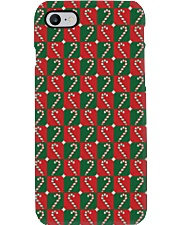 Caramel Canes Phone Case tile