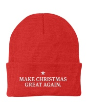 Make Christmas Great Again Knit Beanie front