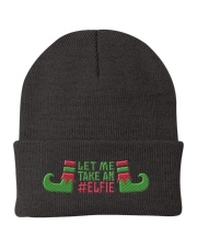Let Me Take An Elfie Knit Beanie front