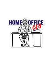 Home Office CEO Sticker - Single (Horizontal) thumbnail