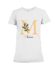 Floral M Premium Fit Ladies Tee thumbnail