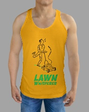 Lawn Whisperer All-over Unisex Tank aos-tank-unisex-lifestyle01-front