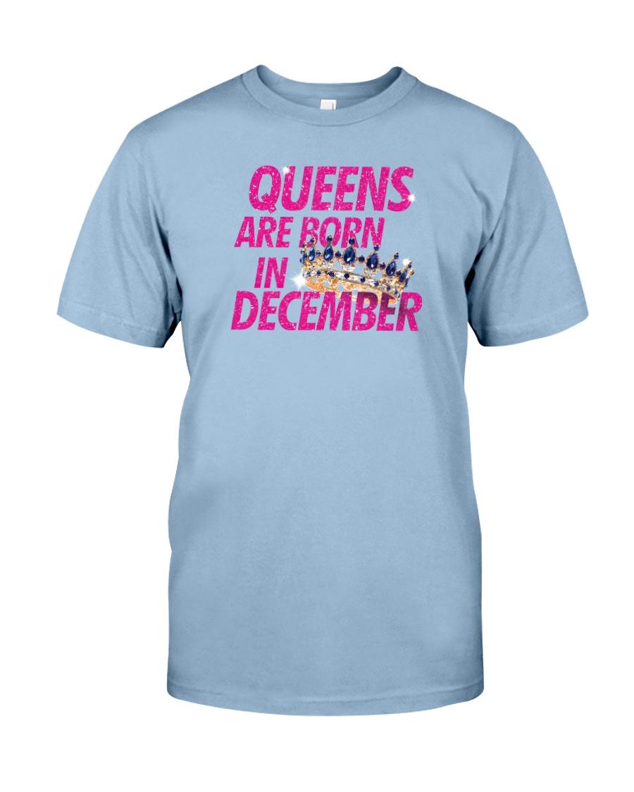 Queens Are Born in December Premium Fit Mens Tee