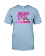 Queens Are Born in December Premium Fit Mens Tee tile
