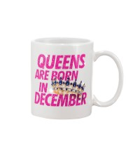 Queens Are Born in December Mug front