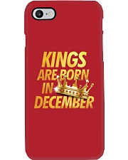 Kings Are Born in December Phone Case thumbnail