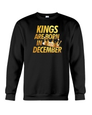 Kings Are Born in December Crewneck Sweatshirt thumbnail
