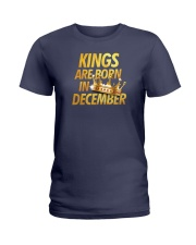 Kings Are Born in December Ladies T-Shirt thumbnail