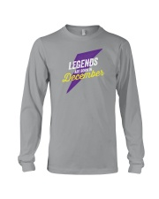 Legends Are Born in December Long Sleeve Tee thumbnail