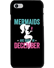 Mermaids Are Born in December Phone Case thumbnail