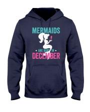 Mermaids Are Born in December Hooded Sweatshirt thumbnail
