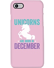 Unicorns Are Born in December Phone Case thumbnail